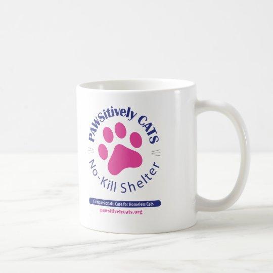 PAWSitively CATS Logo Mug