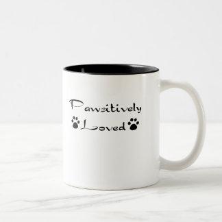 Pawsitively Loved Mug