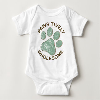 Pawsitively Wholesome Baby Bodysuit