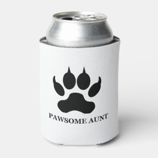Pawsome Aunt Can Cooler