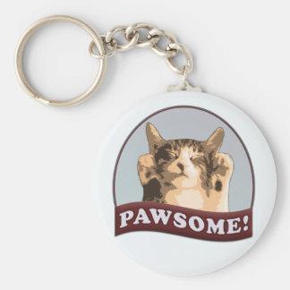 Pawsome! Keychain