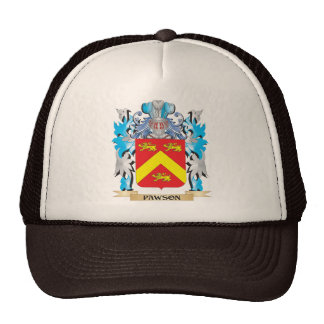 Pawson Coat of Arms - Family Crest Trucker Hat
