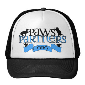 PawsPartners.org Alliance Logo Gear Mesh Hats