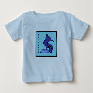 PAWSTAND - Funny Yoga Shirt for Babies