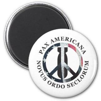 Pax Americana 2 Inch Round Magnet