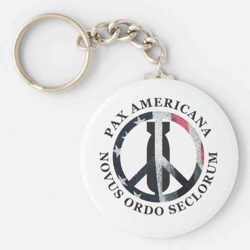 Pax Americana Key Chain