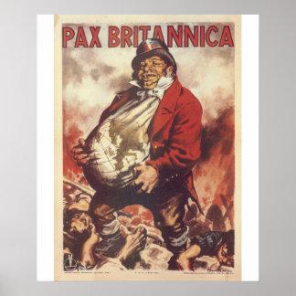Pax Britannica  Propaganda Poster