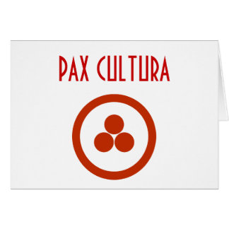 Pax Cultura Stationary Card