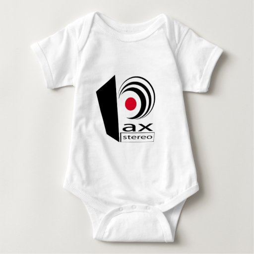 Pax Stereo Logo Items Baby Bodysuit