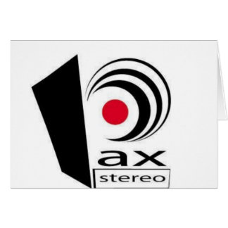 Pax Stereo Logo Items Card