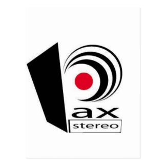 Pax Stereo Logo Items Postcard