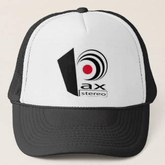 Pax Stereo Logo Items Trucker Hat