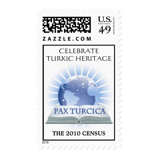 Pax Turcica Heritage Stamp for the 2010 Census