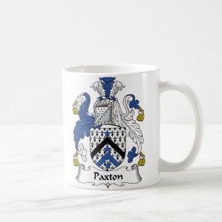Paxton Family Crest Coffee Mug