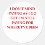 pay as you go sticker