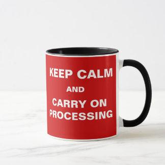 Pay Day Payroll Keep Calm Motivational Slogan Mug