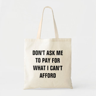 Pay for it Bag