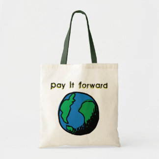 Pay It Forward Budget Tote Bag