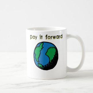 Pay It Forward Classic White Coffee Mug