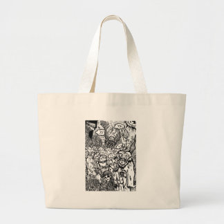 Pay No Attention Canvas Bags