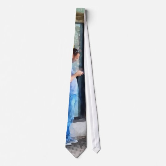 Pay Phone Neck Tie