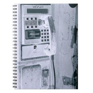 pay+phone notebook design
