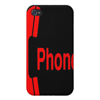 Pay Phone Sign (Choose Your Own Phone Color!) iPhone 4 Covers