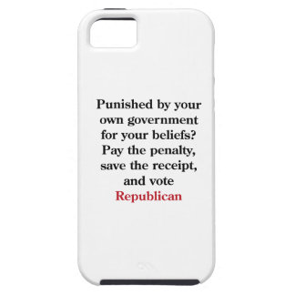 Pay the penalty, vote Republican iPhone 5 Covers