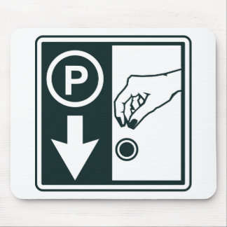 Pay To Park Sign Mouse Pad