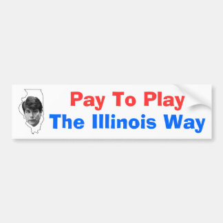 Pay To Play Bumper Sticker