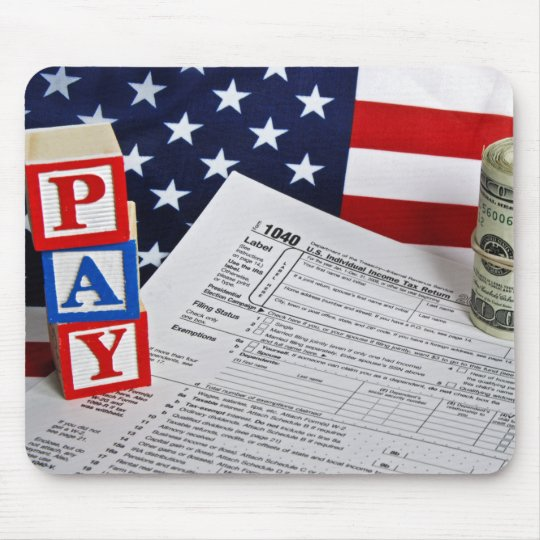 Pay Today Mouse Pad