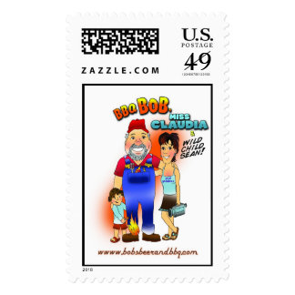 Pay Your Bills with Bob! Postage Stamps
