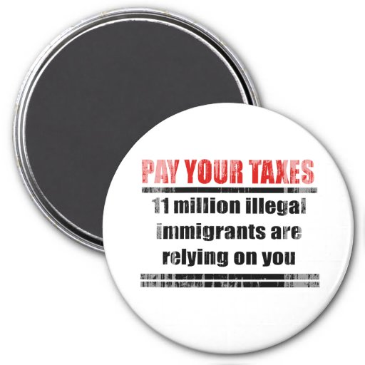 Pay your taxes Faded.png Magnet