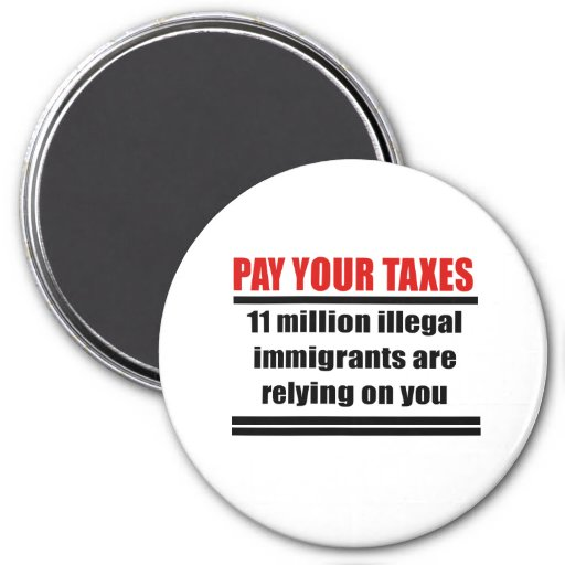Pay your taxes magnets