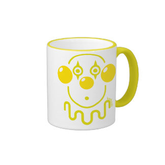 Payaso - amarillo limón taza a dos colores