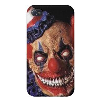 Payaso asustadizo del cumpleaños del caso de IPhon iPhone 4/4S Carcasa