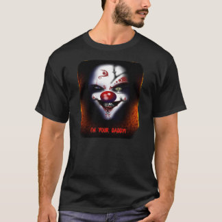 Payaso asustadizo - soy su camiseta del papá