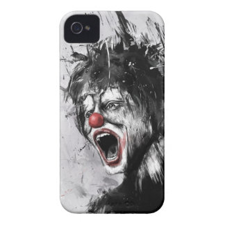 payaso Case-Mate iPhone 4 cárcasas