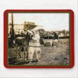 Payaso-con-Mula del circo Tapetes De Raton