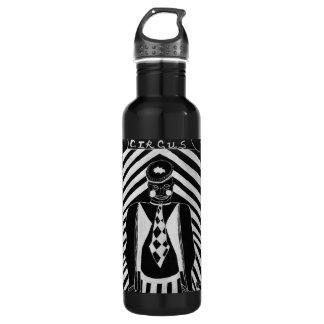 Payaso de circo botella de agua