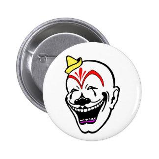 Payaso de circo del vintage pin
