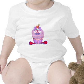Payaso de la magdalena trajes de bebé
