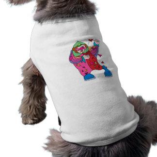 Payaso de la tarjeta del día de San Valentín Camisetas Mascota
