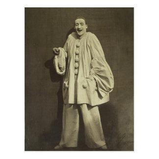 Payaso de Pierrot del vintage Postales