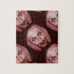 Payaso de Raggedy-Ana del comodín con los ojos de  Puzzle Con Fotos