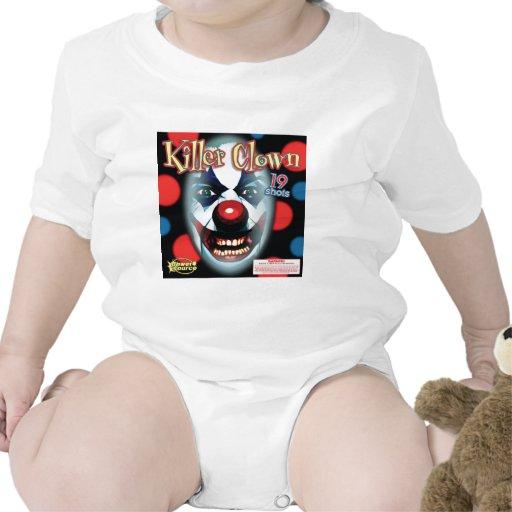 Payaso del asesino trajes de bebé
