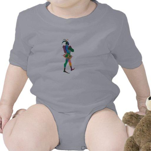 payaso del bufón camiseta