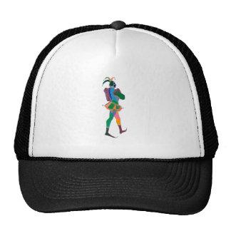 payaso del bufón gorras de camionero