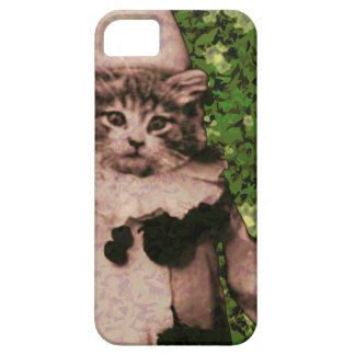Payaso del gato funda para iPhone SE/5/5s