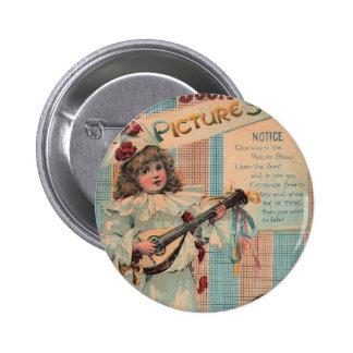 Payaso del niño del vintage pin